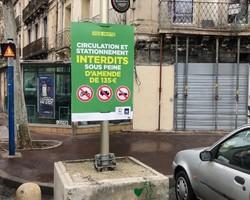 Panneau aquilon - Décor 34 - Montpellier