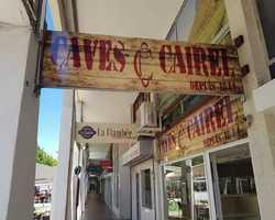 Caves cairel enseigne - La Grande Motte